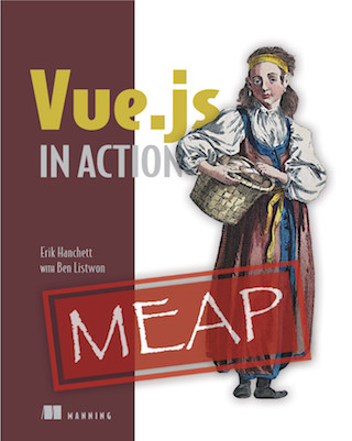 Vue.js In Action Cover Image